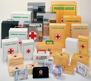 1Botiquines de primeros auxilios